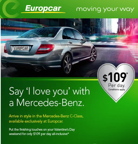 valentines day mercedes
